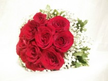 1 Doz of Red Roses with ARIA signature wrapping **LIMITED TIME OFFER**