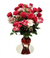 Valentine's Day 12 Deluxe Roses