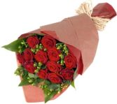 12 DELUXERED ROSES GIFT WRAP in Rockville, MD | ROCKVILLE FLORIST & GIFT BASKETS