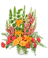 SPIRITUAL SPLENDOR Flower Arrangement in Rockville, MD | ROCKVILLE FLORIST & GIFT BASKETS