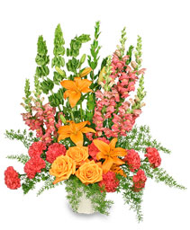 SPIRITUAL SPLENDOR Flower Arrangement in West Hills, CA | RAMBLING ROSE FLORIST