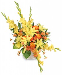 ENDLESS DEVOTION Sympathy Arrangement in Council Bluffs, IA | ABUNDANCE A' BLOSSOMS FLORIST