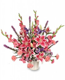 LOVING EXPRESSION Sympathy Arrangement in Tulsa, OK | THE WILD ORCHID FLORIST