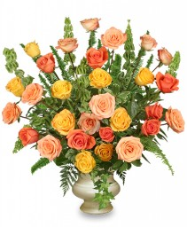 TIMELESS ROSES Arrangement in Huntington, IN | Town & Country Flowers Gifts