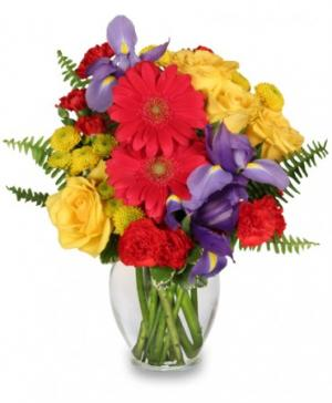 Flora Spectra Bouquet in Morgantown, IN | CRITSER'S FLOWERS AND GIFTS