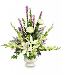 SINCERE SENTIMENTS Arrangement in Council Bluffs, IA | ABUNDANCE A' BLOSSOMS FLORIST