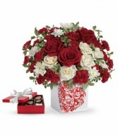 T16V4  Best Friend Forever Bouquet  w/Chocolates