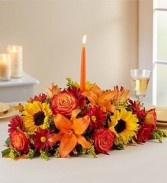 1800 Fall Fields of Europe Centerpiece Thanksgiving