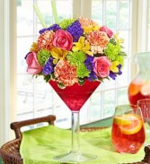 1800 Flowers Sangria Bouquet Summer Arrangement