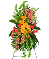 GLORIOUS LIFE Funeral Flowers in Hillsboro, OR | FLOWERS BY BURKHARDT'S