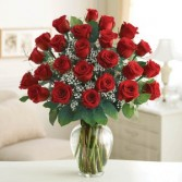2 Dozen Red Rose Elegance™ Premium