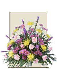 MIXED FRESH FLOWERS Sympathy Tribute