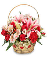 MY HEART IS YOURS Valentine Flowers in Santa Cruz, CA | BOULDER CREEK FLOWERS & DESIGN CO.
