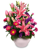 DELICATE EMOTIONS Arrangement in Fairfield, ME | SUNSET FLOWERLAND & GREENHOUSE