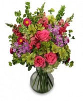 UNFORGETTABLE BEAUTY Arrangement in Lafayette, IN | CATTAILS TO ROSES BY EVE, FLORIST