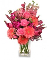 LOVE ALWAYS Arrangement in Michigan City, IN | WRIGHT'S FLOWERS AND GIFTS INC.