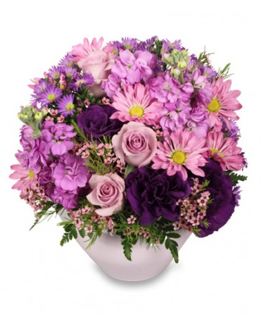 LAVENDER GARDEN Flower Arrangement