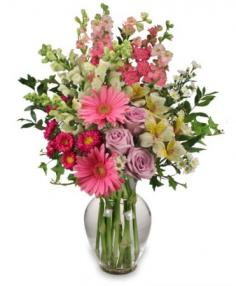 Amazing Day Bouquet Spring Flowers in Salem, OR | HEATH FLORIST