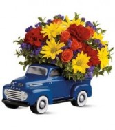 '48 FORD PICKUP BOUQUET in Rockville, MD | ROCKVILLE FLORIST & GIFT BASKETS