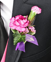 MAGICAL MEMORIES Prom Boutonniere in Bath, NY | VAN SCOTER FLORISTS