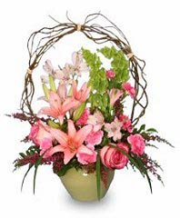 TRELLIS FLOWER GARDEN Sympathy Arrangement