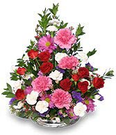 FLORAL HUGS 'N KISSES  Flower Arrangement