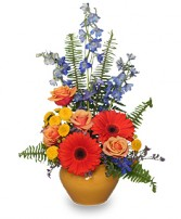 HIGH STYLE BLOOMS Arrangement in Carman, MB | CARMAN FLORISTS & GIFT BOUTIQUE