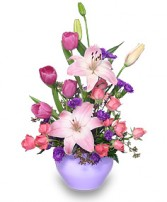 LAVENDER LOVE Bouquet in Milton, MA | MILTON FLOWER SHOP, INC