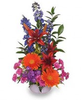 OH HAPPY DAY! Bouquet in Huntington, IN | Town & Country Flowers Gifts