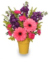 HAPPY-GO-LUCKY GARDEN Flowers to Say Thank You in San Leandro, CA | SAN LEANDRO BANCROFT FLORIST & LYNN'S FLORAL