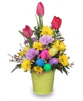 EASTER PRAISE BOUQUET Spring Flowers in Bracebridge, ON | CR Flowers & Gifts ~ A Bracebridge Florist