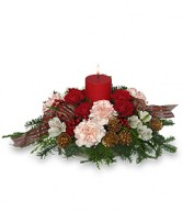 CHRISTMAS CELEBRATION Holiday Centerpiece in Catasauqua, PA | ALBERT BROS. FLORIST
