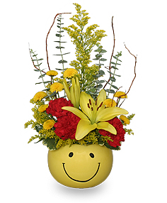 Put On A Happy Face! Bouquet in Richland, WA | ARLENE'S FLOWERS AND GIFTS