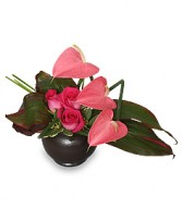 FLORAL FINE ART Arrangement in Bath, NY | VAN SCOTER FLORISTS