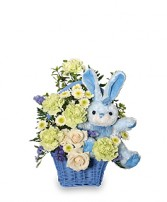 CONGRATULATIONS SON New Baby Flowers in Jeffersonville, GA | BASLEY'S FLORIST