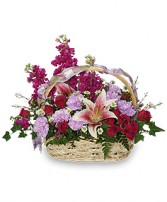 HAPPY HUGS BASKET Flower Arrangement in West Islip, NY | TOWERS FLOWERS