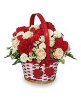 MY SWEETIE BOUQUET Flower Basket in Woburn, MA | THE CORPORATE DAISY