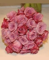 Purely Pink Roses Nosegay Bridal Wedding Bouquet