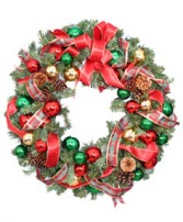 FESTIVE HOLIDAY WREATH  Christmas Gift  in Wilmore, KY | THE ROSE GARDEN