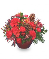 IT'S CHRISTMAS TIME! Flower Bouquet in Wilmore, KY | THE ROSE GARDEN