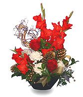 ST. NICK'S HOLIDAY  FLOWER DELIGHT