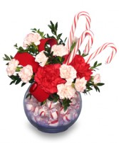 PEPPERMINT POSIES  Candy Bouquet in Wilmore, KY | THE ROSE GARDEN