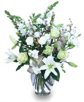 WINTER MAGIC Flower Arrangement in Waterloo, IL | DIEHL'S FLORAL & GIFTS