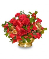 BERRY BEDAZZLING Bouquet of Flowers in Salisbury, MD | FLOWERS UNLIMITED