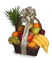 FESTIVE FRUIT BASKET Gift Basket in New York, NY | TOWN & COUNTRY FLORIST/ 1HOURFLOWERS.COM