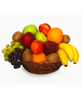 MIXED FRUIT BASKET Gift Basket in Jeffersonville, GA | BASLEY'S FLORIST