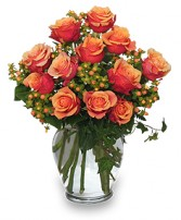 CORAL SUNSET Bouquet of Roses in Palm Beach Gardens, FL | NORTH PALM BEACH FLOWERS