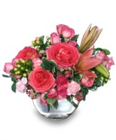 LOVING EMBRACE  Flower Vase in Windsor, ON | VICTORIA'S FLOWERS & GIFT BASKETS