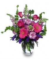 ENCHANTED BLOOMS Flower Arrangement in Essex Junction, VT | CHANTILLY ROSE FLORIST