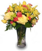 AUTUMN DAYBREAK Flower Bouquet in Mcleansboro, IL | ADAMS & COTTAGE FLORIST